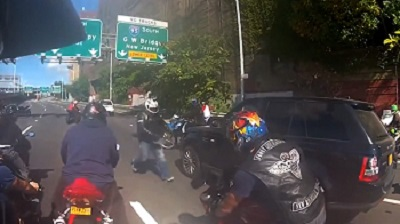 Family chased by bikers in New York